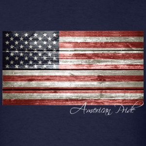American Pride Flag - Men's T-Shirt