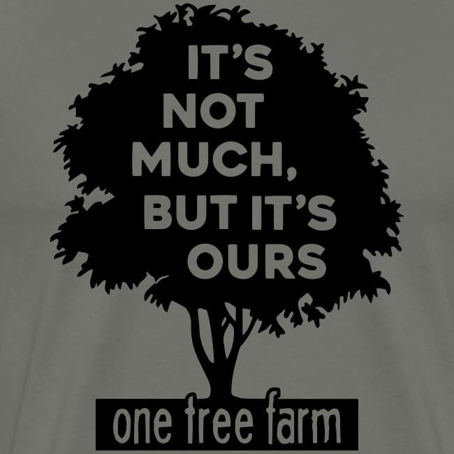 One Tree Farm Premium Tee