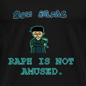 Raph Is Not Amused T-Shirt - Men's Premium T-Shirt