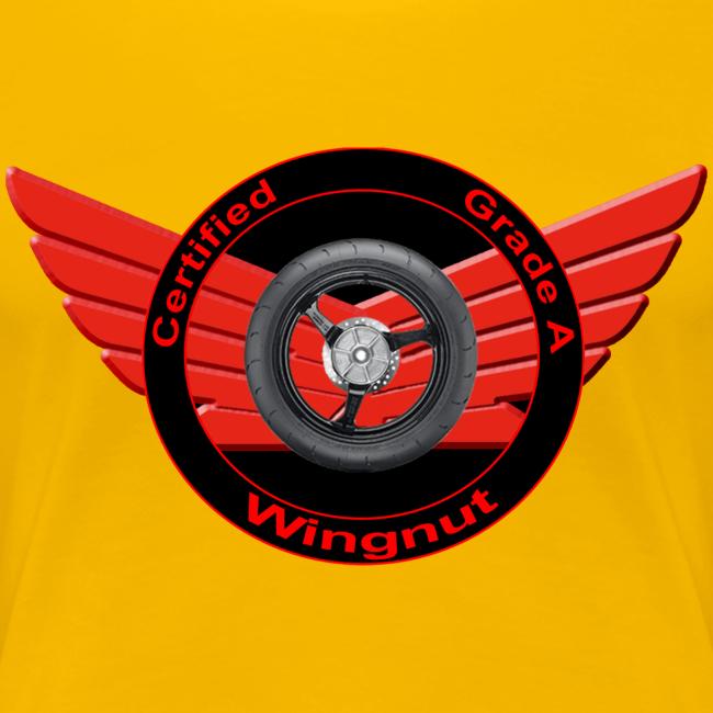 Ladies Premium T Front WingNut
