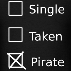 Single Taken Pirate T-Shirts - Men's T-Shirt