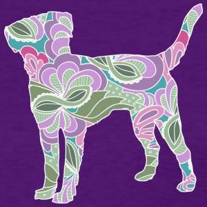 Floral Garden Labrador Retriever - Women's T-Shirt