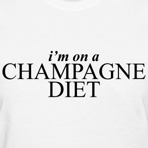 I'm on a champagne diet Women's T-Shirts - Women's T-Shirt