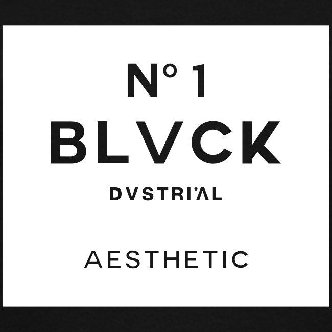 BLACK N°1 WOMEN'S V-NECK T-SHIRT BY LAT