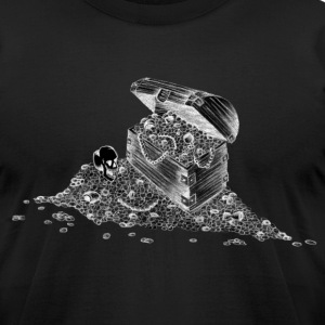 Treasure Chest Shirt - Men's T-Shirt by American Apparel