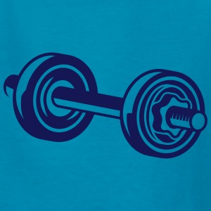a dumbbell for biceps Kids' Shirts - Kids' T-Shirt