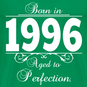 Born-in-Age-1996 T-Shirts - Men's Premium T-Shirt