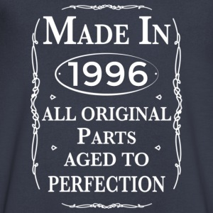 made in-1996 birthday T-Shirts - Men's V-Neck T-Shirt by Canvas