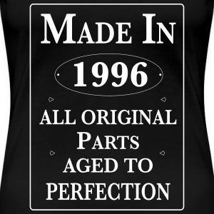 made in 1996 II birthday Women's T-Shirts - Women's Premium T-Shirt