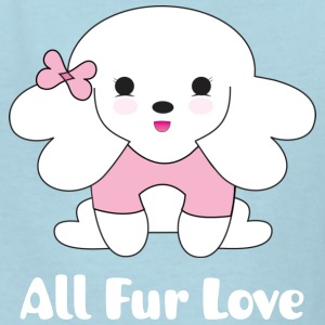 All Fur Love Kid's T-shirt by Hana Ohana ® - Kids' T-Shirt