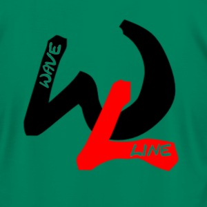 Waveline item T-Shirts - Men's T-Shirt by American Apparel