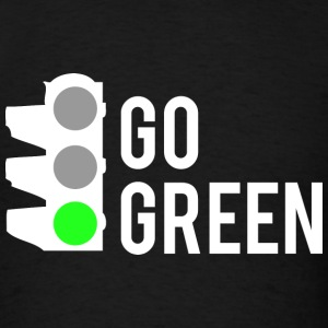 Go Green - Men's T-Shirt