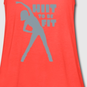 HIIT To Be Fit - Women's Flowy Tank Top by Bella