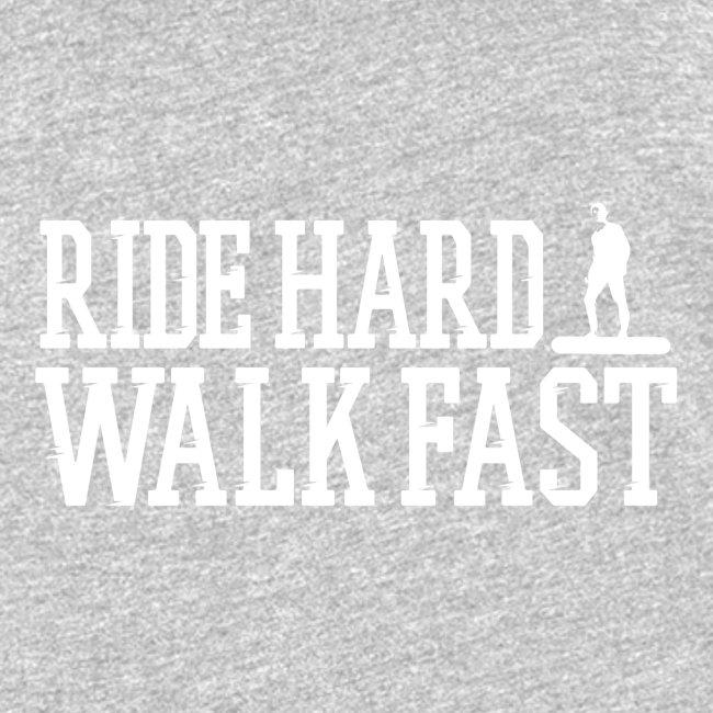 Ride Hard Walk Fast Graphic Woman's Tank Top
