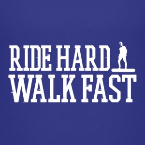 Ride Hard Walk Fast Logo Tee - Kids' Premium T-Shirt