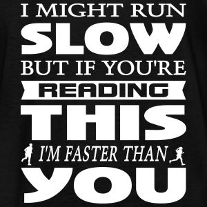 I Might Run Slow Kids' Shirts - Kids' T-Shirt