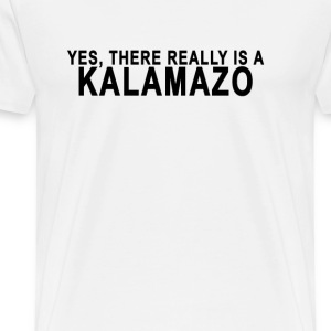 yes_kalamazoo - Men's Premium T-Shirt