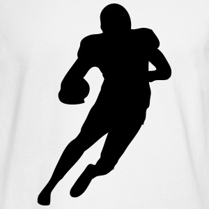Football player Long Sleeve Shirts - Men's Long Sleeve T-Shirt