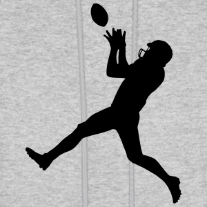 Football player Hoodies - Men's Hoodie