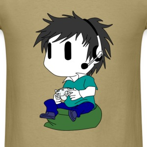 Chibi Gamer - Men's T-Shirt