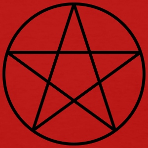 Pentacle Symbol (Vector) - Women's T-Shirt
