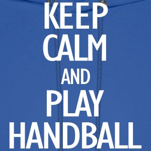 keep calm and playhandball Hoodies - Men's Hoodie