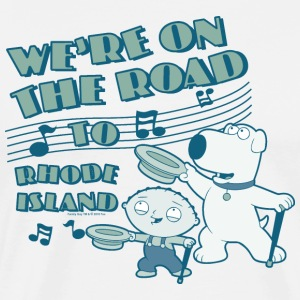 Family Guy We're on the road - Men's Premium T-Shirt