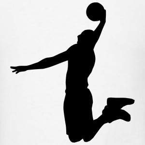 Basketball Player T-Shirts - Men's T-Shirt