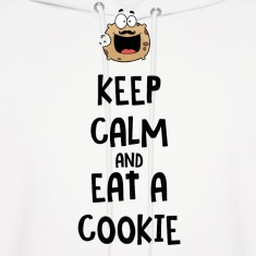 Keep calm and eat a cookie Hoodies