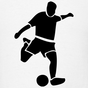 Soccer Player T-Shirts - Men's T-Shirt