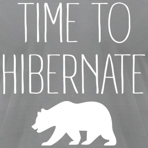 Time To Hibernate T-Shirts - Men's T-Shirt by American Apparel