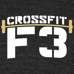 CrossFit F3 Dont Quit T-Shirt - Unisex Tri-Blend T-Shirt by American Apparel