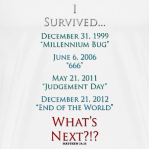 Survived... Whats Next? T-Shirts - Men's Premium T-Shirt