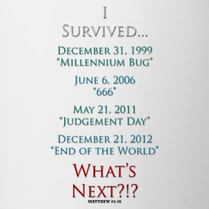I Survived... ...What's Next?!? - Contrast Coffee Mug