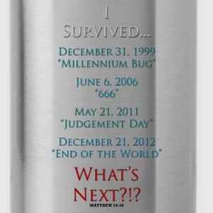 Survived... Whats Next? Sportswear - Water Bottle