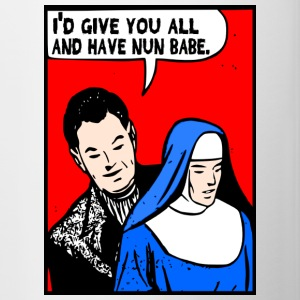 Nun Babe Mugs & Drinkware - Contrast Coffee Mug