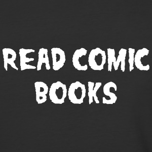 Read Comic Books T-Shirts - Baseball T-Shirt