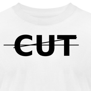 Cut Tee - Men's T-Shirt by American Apparel