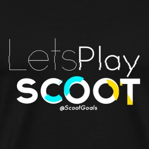 Lets Play Scoot - Men's Premium T-Shirt
