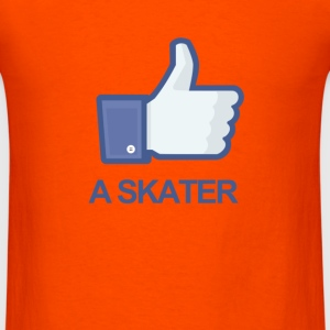 LIKE A SKATER - Men's T-Shirt