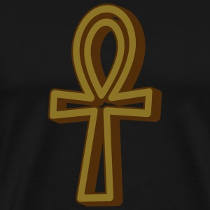 Ankh Symbol 3 (Vector) - Men's Premium T-Shirt