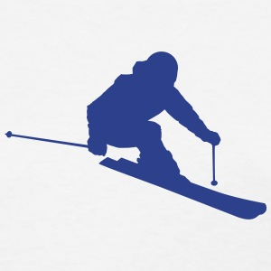 Skier 2 (Vector) - Women's T-Shirt