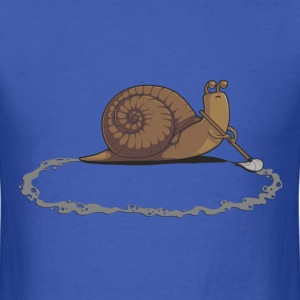 Clever Snail - Men's T-Shirt