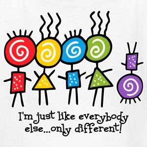 Same Only Different Kids' Shirts - Kids' T-Shirt