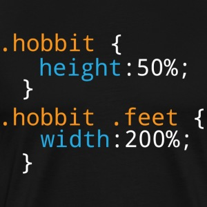 Css Puns - Hobbit - Men's Premium T-Shirt