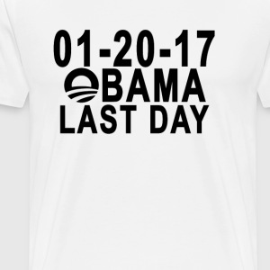 obamas_last_day__gtfo_ - Men's Premium T-Shirt