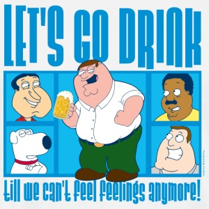 Family Guy Let's Go Drink - Men's Premium T-Shirt