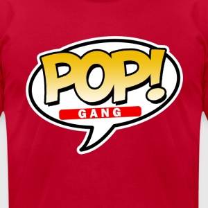 Pop Gang funny - Men's T-Shirt by American Apparel