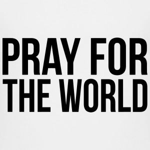 PRAY FOR THE WORLD Kids' Shirts - Kids' Premium T-Shirt
