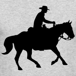 Cowboy Long Sleeve Shirts - Men's Long Sleeve T-Shirt by Next Level